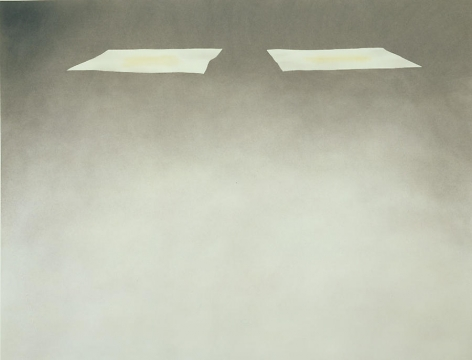 Two Sheets With Grass Stains, 1972