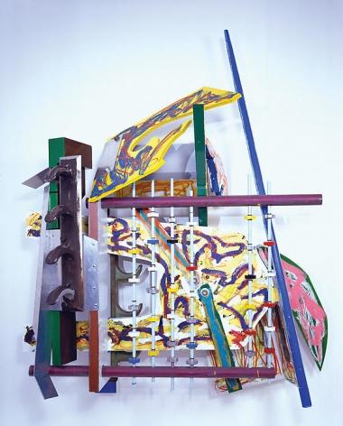 Frank Stella Playskool (Playskool Gym-large version, 2nd version), 1982-84