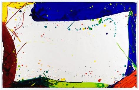 Sam Francis Untitled (SF64-075), 1964