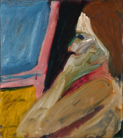 Diebenkorn Girl in Profile