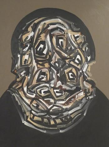 Antonio Saura Rembrandt 2/90, 1990