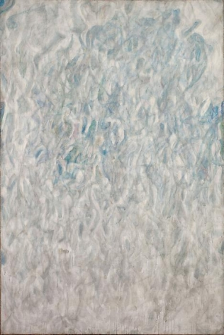 Sam Francis Amerika (Grey Blue), 1952