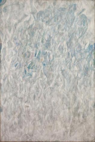 Sam Francis Amerika (Grey Blue), 1952
