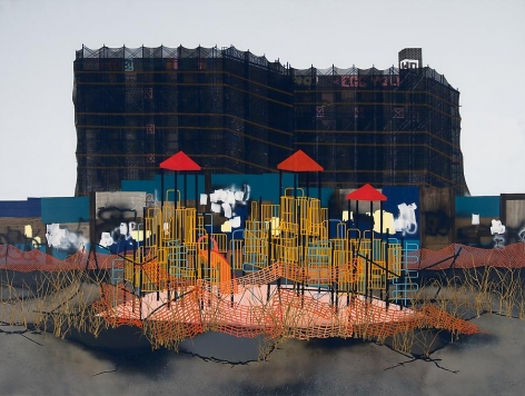 Erik Benson Overgrowth (Playground), 2011