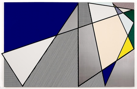 Roy Lichtenstein Imperfect Painting, 1986
