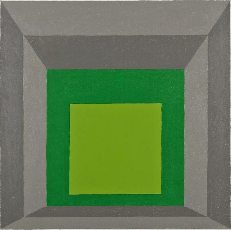 Josef Albers Homage to the Square: Juxtaposed, 1957