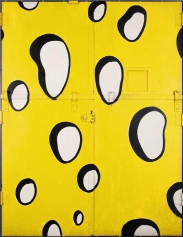 Roy Lichtenstein Untitled (Swiss Cheese Elevator Doors), c. 1985