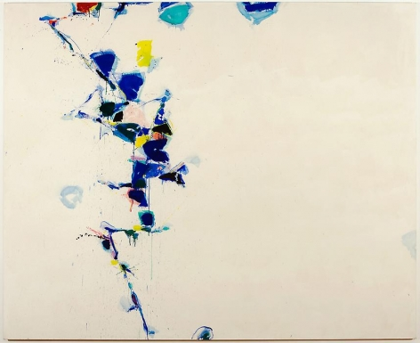 Sam Francis Toward Disappearance III, 1957