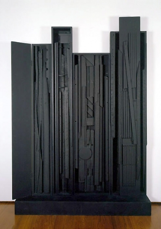 Louise Nevelson Black Nightscape, 1959