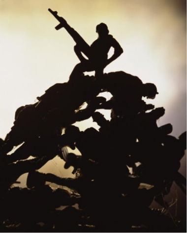 Andres Serrano Anarchy (American Monument), 2011