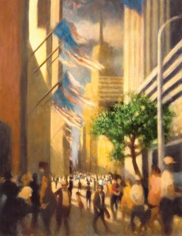 Bill Jacklin Towards Empire, Fifth Avenue I , 2007