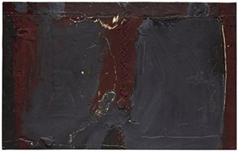Antoni Tàpies Gris I porpra (Grey and Purple), 1960