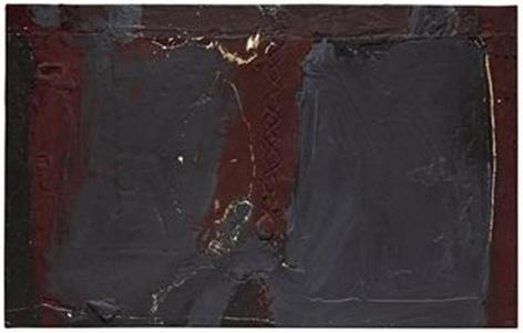 Antoni Tàpies Gris I porpra (Grey and Purple), 1960