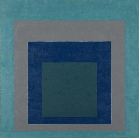 Josef Albers Study for Homage to the Square, 1951