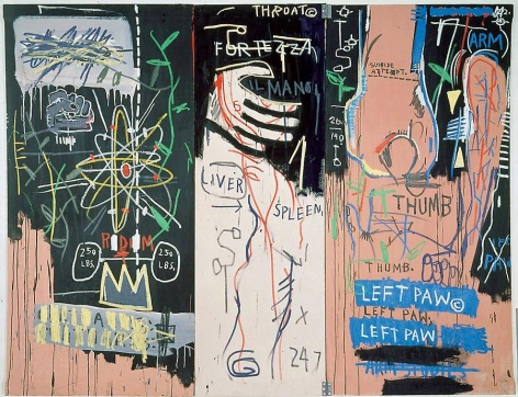 Jean-Michel Basquiat Catharsis, 1984