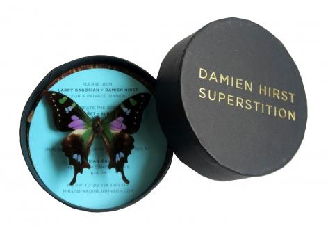 Damien Hirst, Superstition,