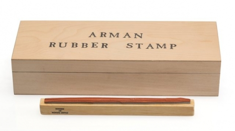 Arman, Rubber Stamp,  The Stamp Art Museum and Gallery, Alternate Projects