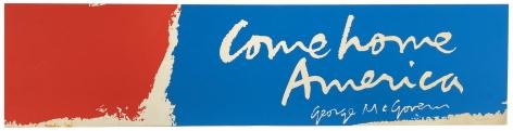 Mary Corita (Sister Corita) Kent, Come Home America, Alternate Projects