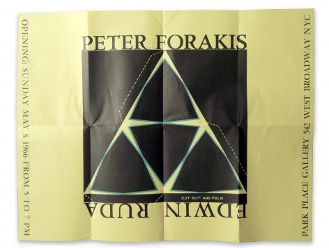Peter Forakis and Edwin Ruda