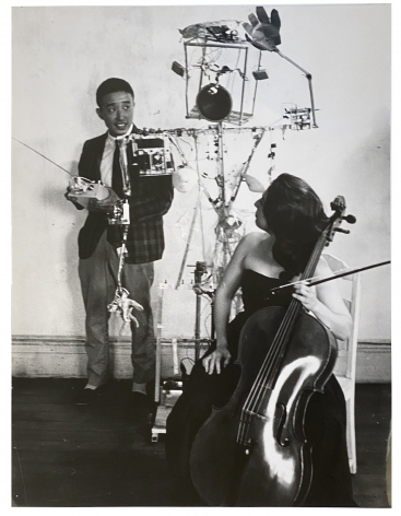 Nam June Paik and Charlotte Moorman