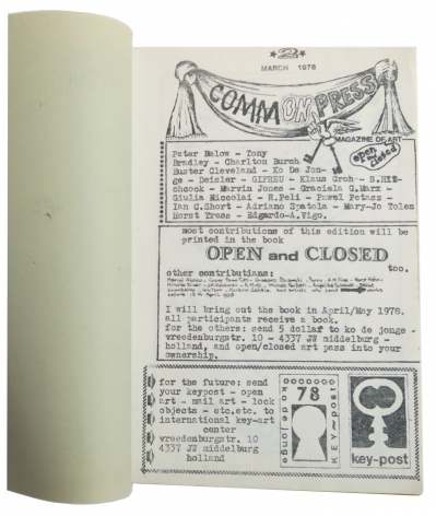 Commonpress No. 2 What is the difference between Open and Closed, Alternate Projects