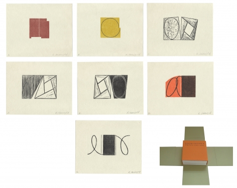 Robert Mangold Prints 1968-1998, Alternate Projects