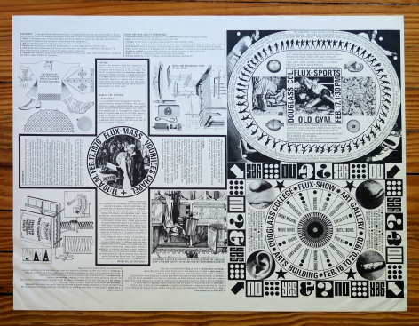 Alternate Projects, George Maciunas, FLUXMASS, FLUXSPORTS AND FLUXSHOW