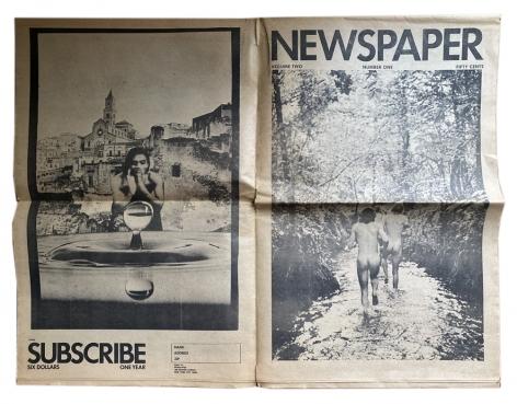 Newspaper, vol. 2, no. 1