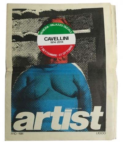 Guglielmo Achile Cavellini, Alternate Projects