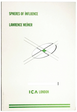 Lawrence Weiner, Spheres of Influence