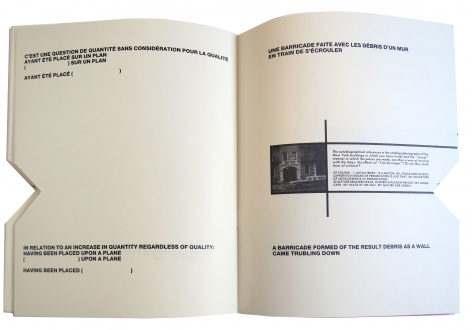 Lawrence Weiner Sculpture, Alternate Projects