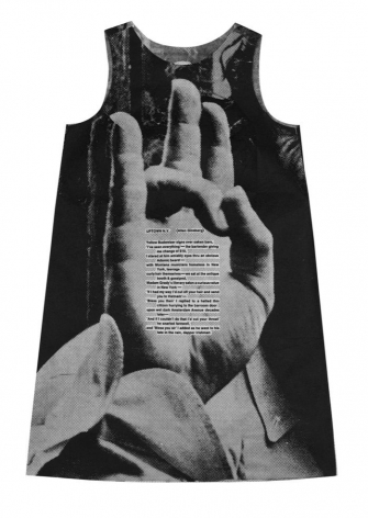 Poster Paper Dress by Harry Gordon with Allen Ginsberg Poem, Alternate Projects