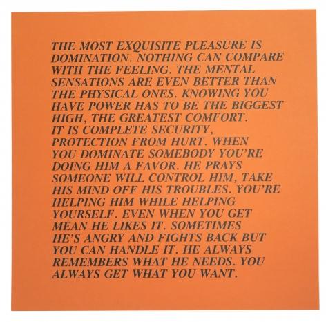 Jenny Holzer, 12  Inflammatory Essays, 10 x 10, Alternate Projects