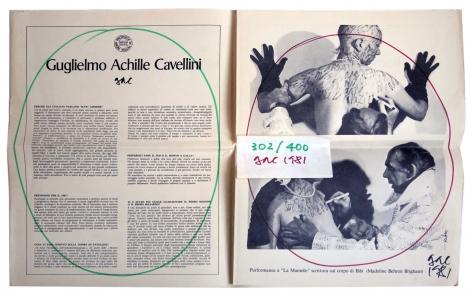 Guglielmo Achille Cavellini, Alternate Projects