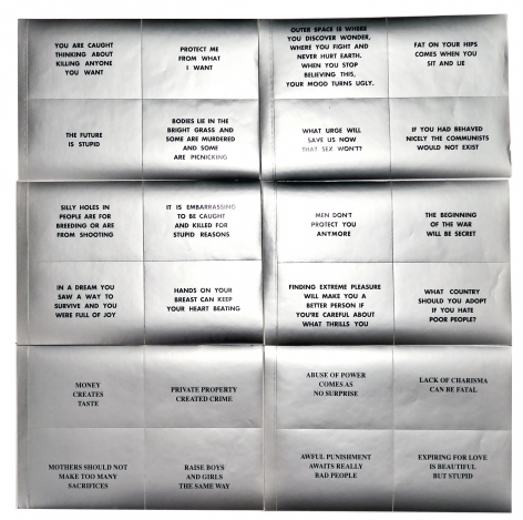 Jenny Holzer, Messages, Alternate Projects