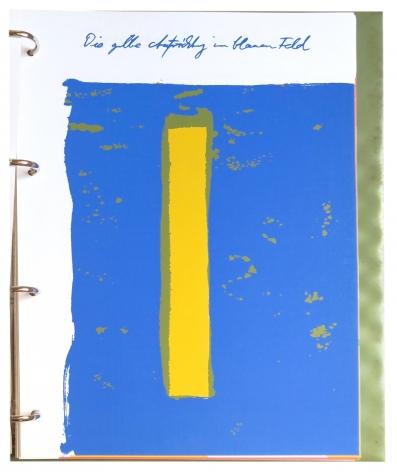 A. R. Penck (Ralf Winkler), Zeichen als Verständigung, Bücher und Bilder /Sign as an understanding, Books and pictures