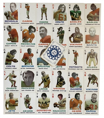 Donald Dennis Celender, Artball Playing Cards