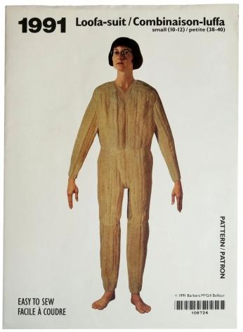 Barbara McGill Balfour,  Loofa-suit / Combinaison-luffa