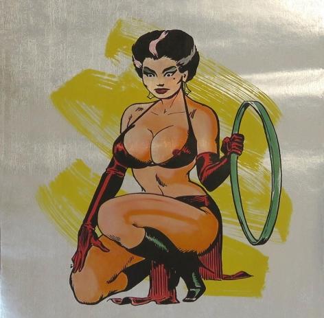 Alternate Projects, Allen Jones  Right Hand Lady- wallpaper