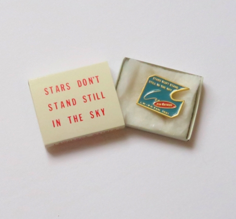 Lawrence Weiner, Stars Don't Stand Still in the Sky