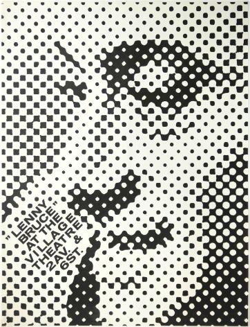 George Maciunas, Lenny Bruce at the Village Theatre