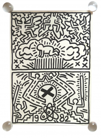 Alternate Projects, Keith Haring, Poster for Nuclear Disarmament