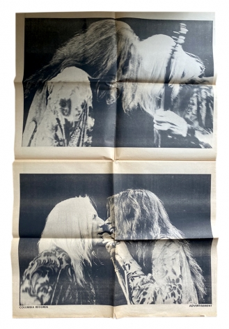 Newspaper, vol. 2, no. 1, 1970, Steve Lawrence and Andrew Ullrick, Editors, Alternate Projects