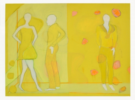 Yellow Mannequins, 2015