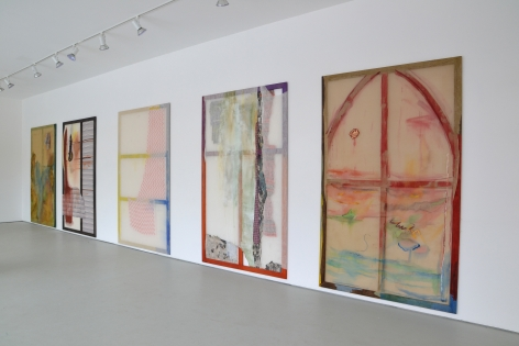 Installation view No. 1 Rainbow