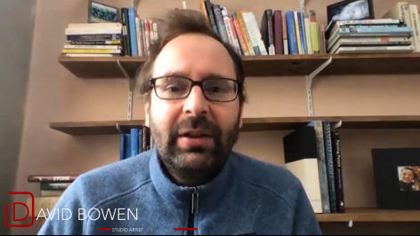 "David Bowen discusses ""narrative"" in his work"