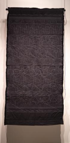 Kathy McTavish  Generative Textile Drawing No. 16, 2019