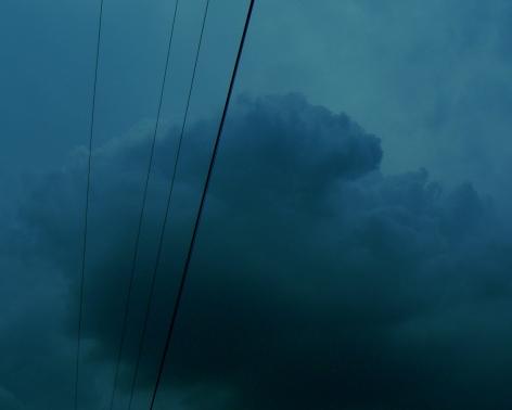 "Tim White ""untitled (thunderhead)"", archival digital print, 8 x 10 in, 2018."
