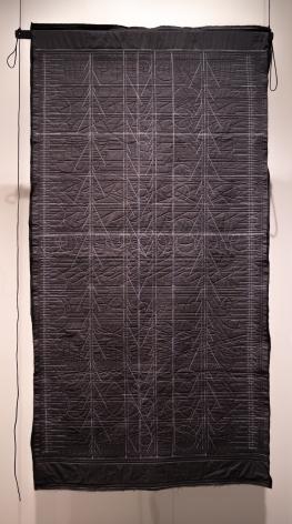 Kathy McTavish  Generative Textile Drawing No. 13, 2019
