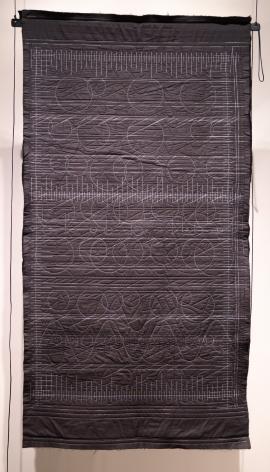 Kathy McTavish  Generative Textile Drawing No. 12, 2019